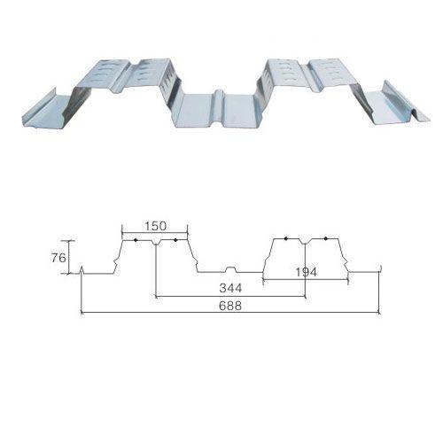 成都彩钢-开合型组合楼板