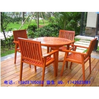 厂销实木桌椅休闲桌椅园林桌椅