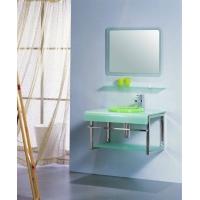 杭州喜乐卫浴 玻璃台盆