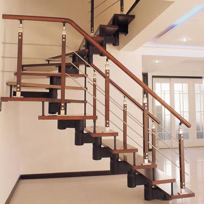 欧式,仿古式等各种木制楼梯的经典