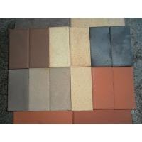 烧结砖、景观砖、广场砖、挤出砖、劈开砖、陶土砖、人行道砖、