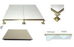 成都金思静电地板-全钢陶瓷防静电架空活动地板