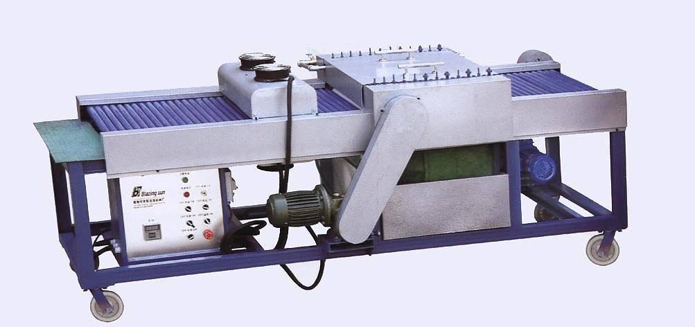 bsx-600型速度清洗机玻璃配有无级变速器,调整清洗设备.东莞镭雕图片