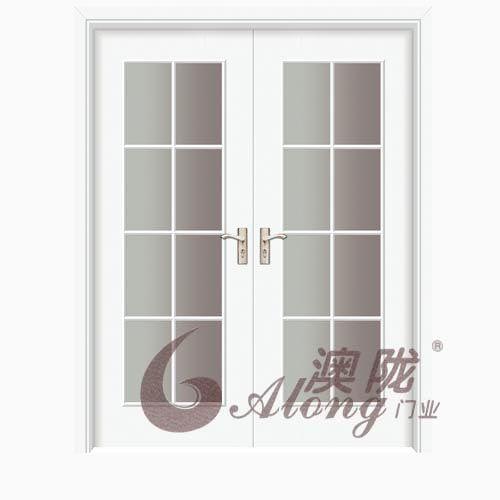 成都澳陇-玻璃门(贴板工艺系列)