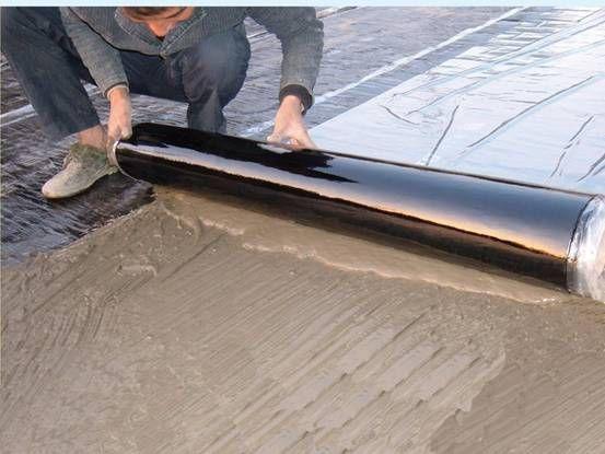 BAC双面自粘聚合物改性沥青防水卷材