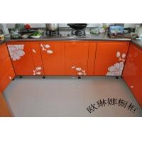 不锈钢橱柜 家用不锈钢整体橱柜 欧琳娜橱柜