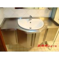 浴室柜 不锈钢浴室柜 不锈钢橱柜 不锈钢浴室柜定制