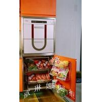 不锈钢橱柜 不锈钢整体橱柜 地柜连动拉篮 欧琳娜橱柜