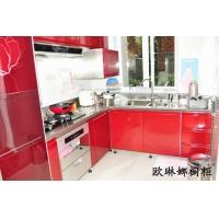 不锈钢橱柜 家用不锈钢整体橱柜 上海橱柜 橱柜定制