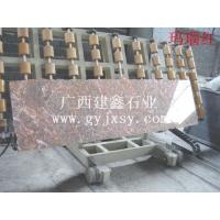 广西建鑫石业厂家直销玛瑙红大理石