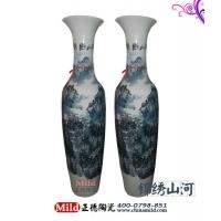 供应陶瓷大花瓶 景德镇大花瓶 商务礼品大花瓶 开业礼品花瓶