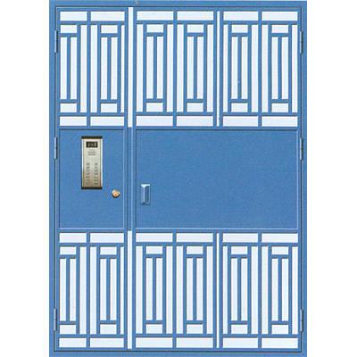 钢质防盗门 电控单元门