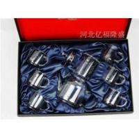 【亿福隆盛】河北玻璃茶具生产厂家 提供高档玻璃茶具定做价格