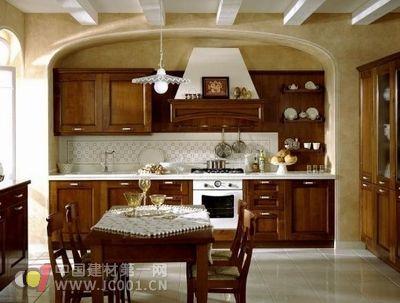 厨房装修宝典之:二十二款实木橱柜效果图