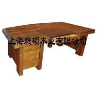 刻纹木家具庭硕老板桌