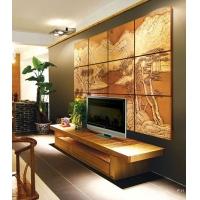 立体浮雕电视墙—山水览胜