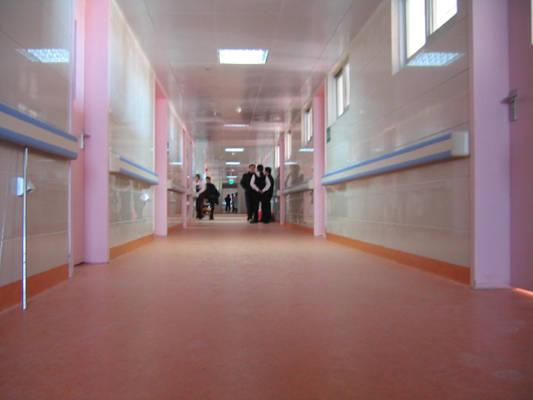 湖北省妇幼保健院病房楼梯