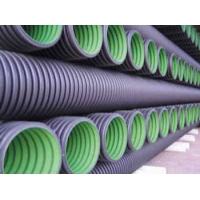 苏州泰州地区厂家直销(UPVC/HDPE)双壁波纹管、加筋管