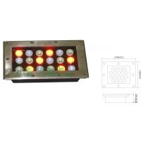 大功率长方形LED18W彩色光地埋灯
