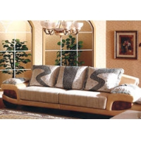 大款皮布沙发-好迪家具