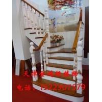 天津楼梯别墅楼梯天津实木楼梯阁楼楼梯天津钢木楼梯玻璃护栏