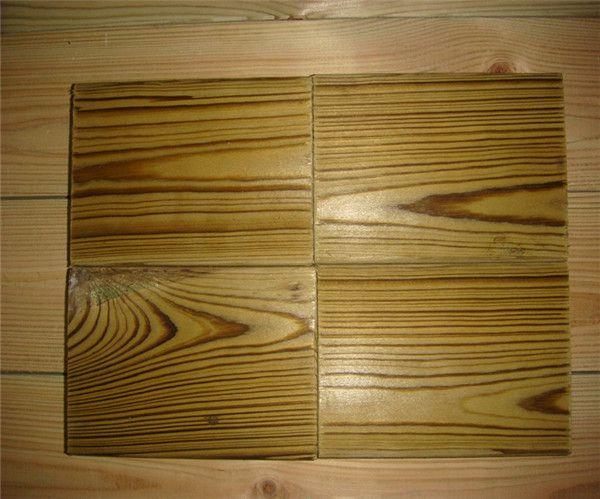 杭州防腐木-深度炭化木