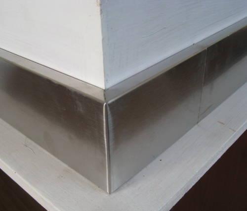 不锈钢踢脚线 - 邦凯复合型材