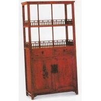清中期-核桃木小书柜