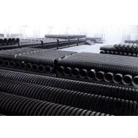 浙江地区HDPE双壁波纹管电力管浙江越财塑业有限公司