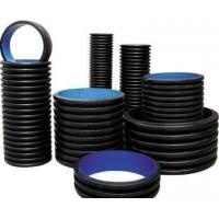 HDPE双壁波纹管/PVC双壁波纹管/HDPE增强螺旋钢带管