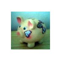 彩色猪储存罐
