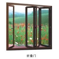 铝包木折叠门
