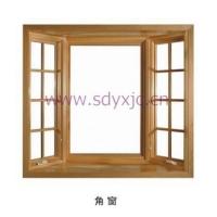 铝包木角窗