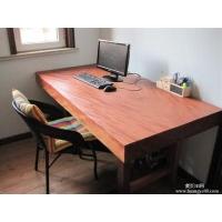 简约时尚实木平板家具花梨木大板电脑桌