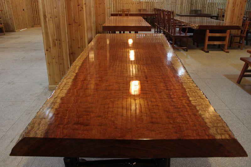 实木家具 实木大板 餐桌