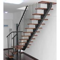 南京楼梯-南京伯爵楼梯-钢木楼梯10