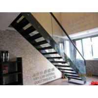 南京伯爵楼梯--玻璃楼梯护栏
