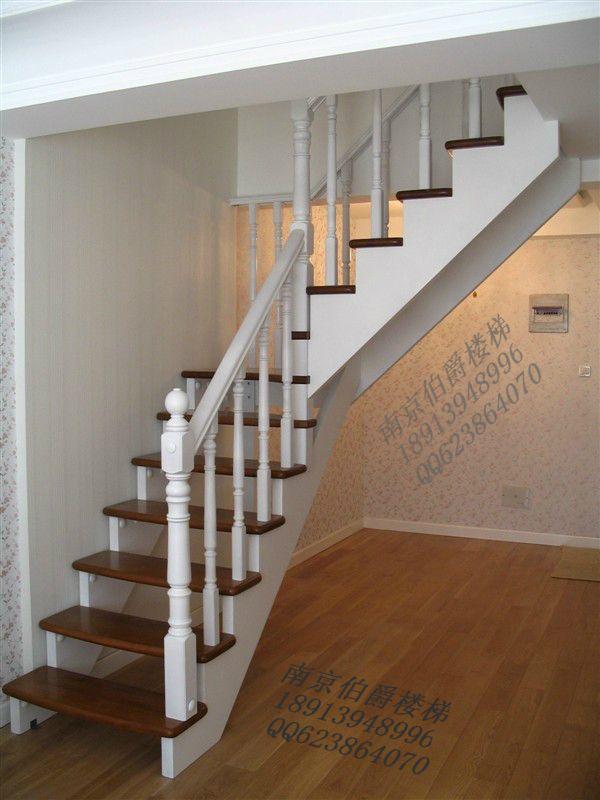 南京伯爵楼梯--整体实木楼梯