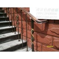 南京伯爵楼梯----铁艺花楼梯护栏