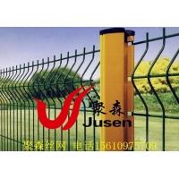 园林防护用聚森钩挂式桃形柱护栏
