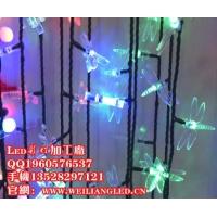 最新款LED蜻蜓灯串 户外防水挂件蜻蜓灯串/蜻蜓彩灯
