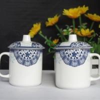 景德镇金诚陶瓷厂家生产陶瓷茶杯办公杯