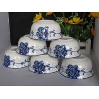 景德镇骨瓷餐具十个一套彩盒装