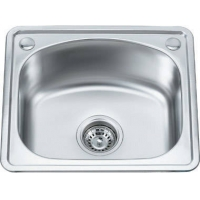 苹果王卫浴-不锈钢单槽