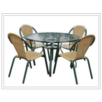 铝合金桌椅 休闲桌椅 铝合金桌子 铝合金椅子 户外休闲