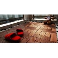 苏州DIY木塑地板第一浴室阳台防水防滑WPC塑木地板