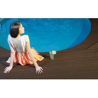 苏州水岸木塑地板第一游泳馆防水塑木地板