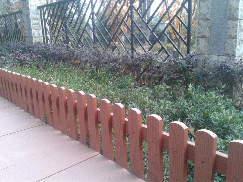 苏州/苏州木塑栅栏景观绿化带防护栅栏厂家直销