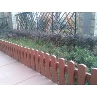 苏州生态木塑木地板第一WPC栅栏景观绿化带防护栅栏