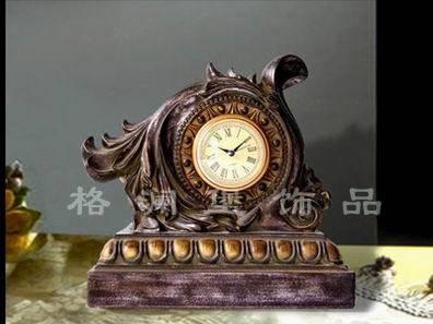 欧式仿古座钟图片